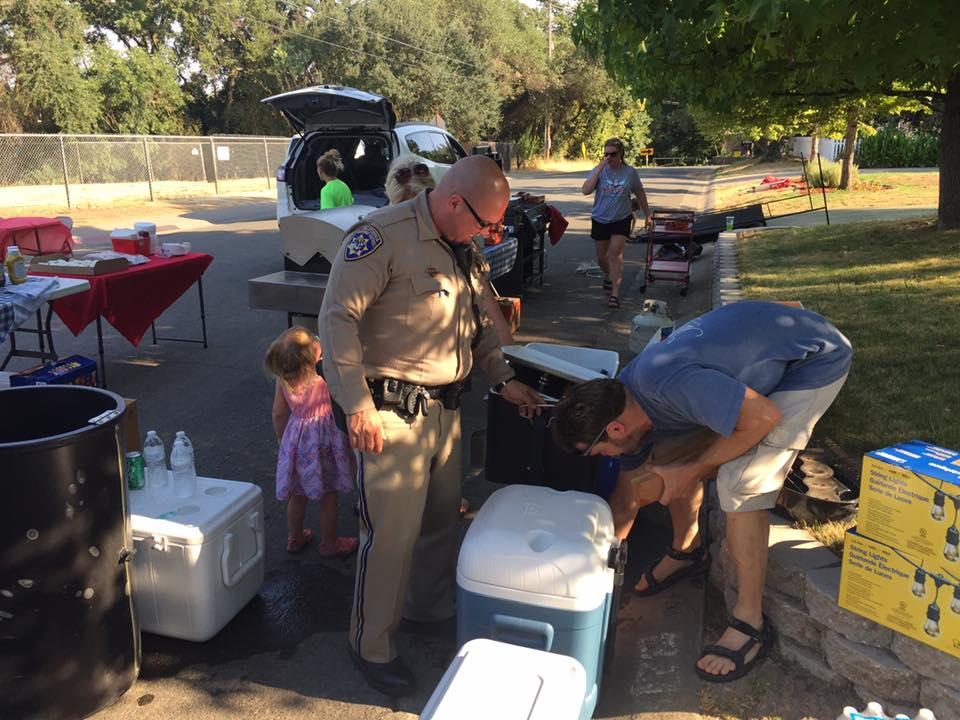 2017 National Night Out with the California Highway Patrol